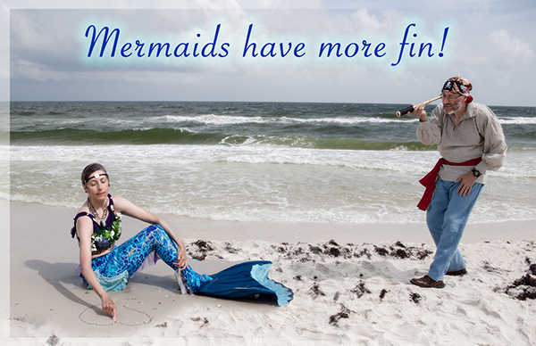 Mermaids have more fin